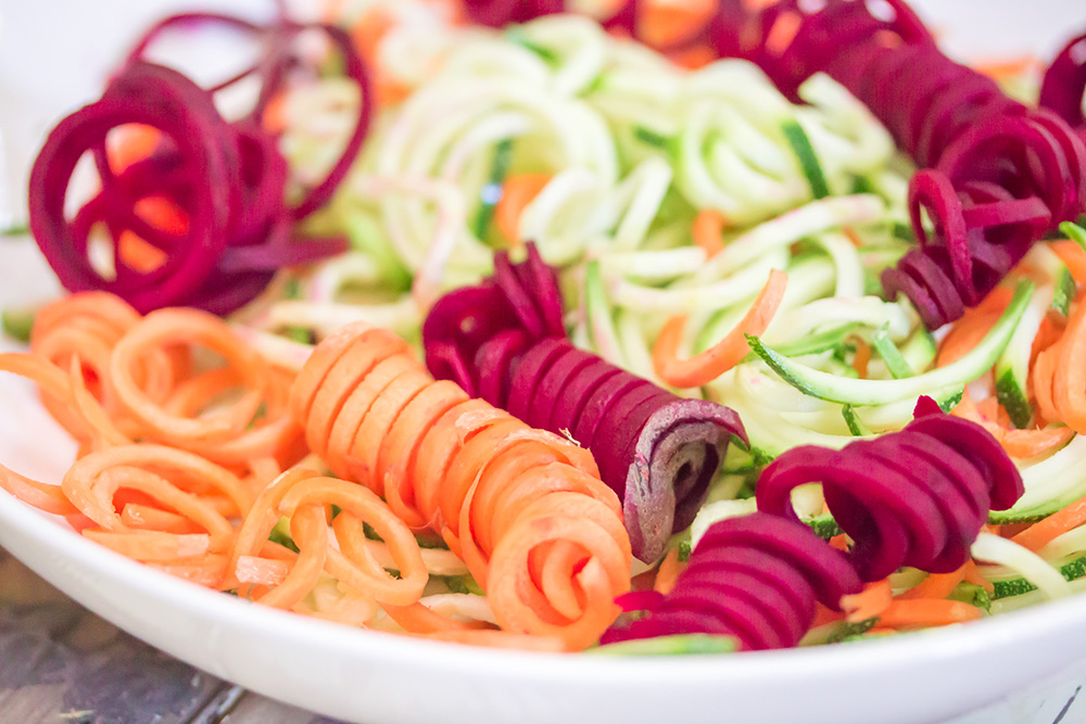 Chilled Thai Veggie Noodle Bowl Ingredients