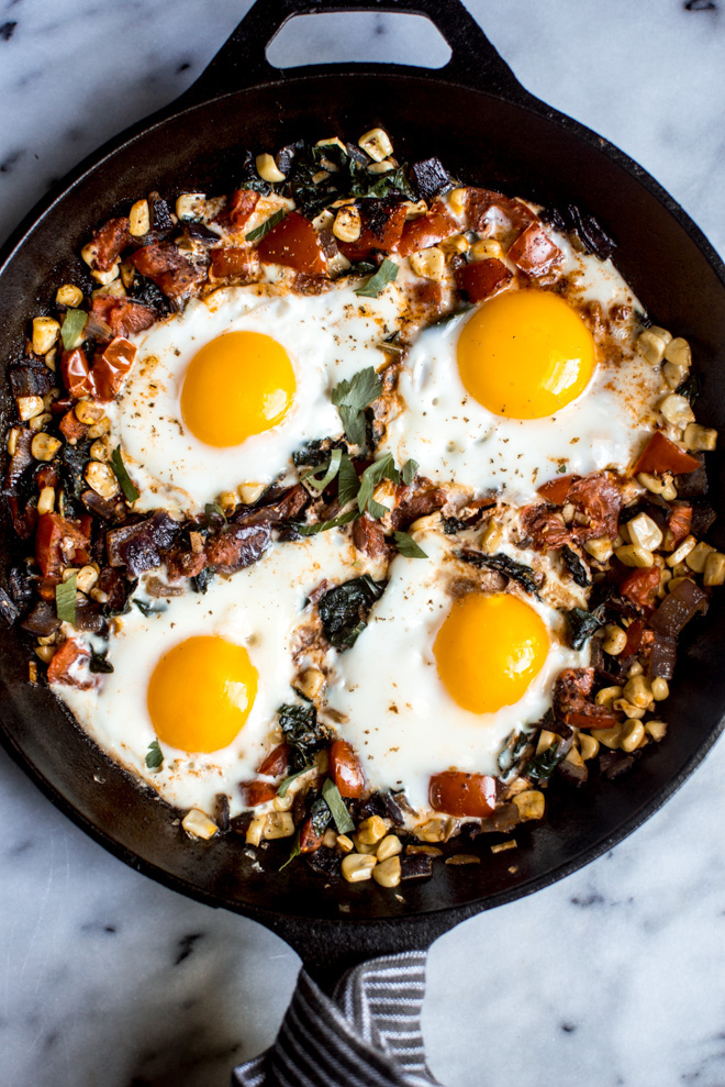 20-Minute Braised Egg Breakfast | Healthy Nibbles & Bits