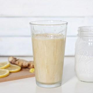 Iced Turmeric Tea Latte (Dairy-Free!)