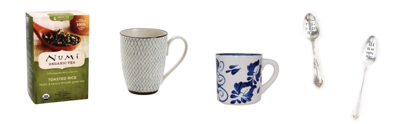 Tea Lovers Gift Guide: Tea and Mugs