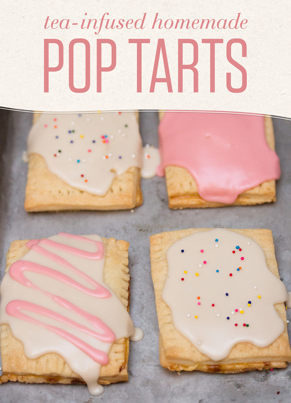 These raspberry and green tea-filled homemade pop tarts have an antioxidant bonus!