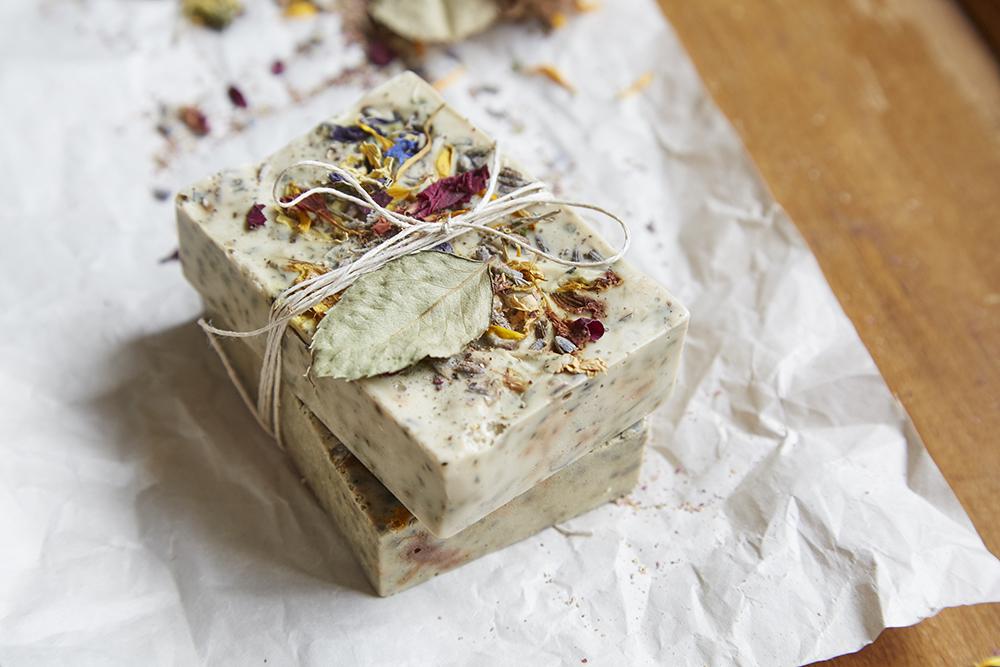 tea soap