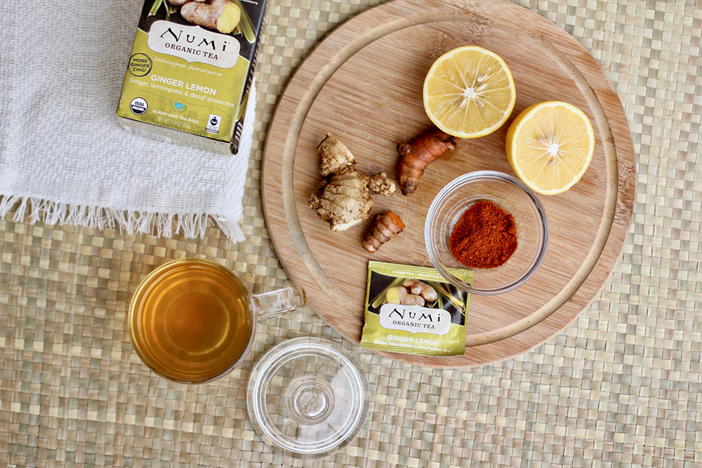 Ginger Lemon Tea Tonic