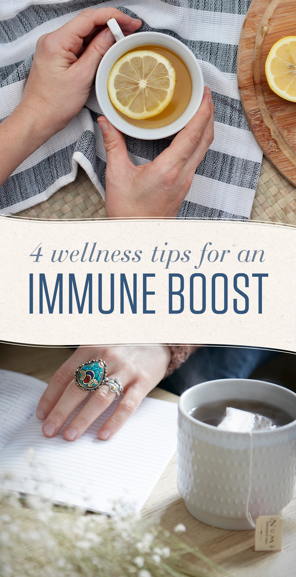 With fall AND viruses in the air, it's wise to follow these wellness tips and boost your immune system for better resistance to illness.