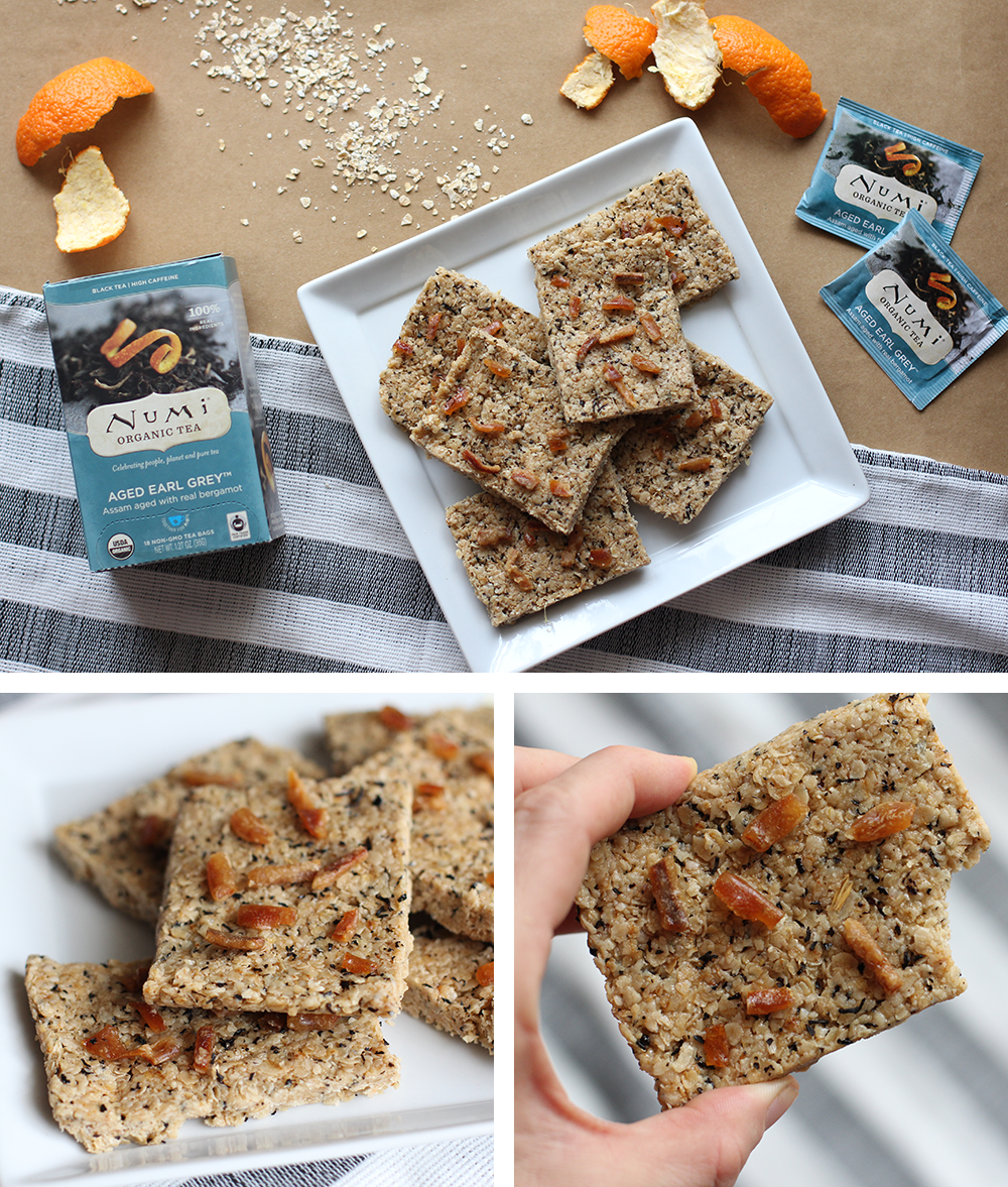 Aged Earl Grey Granola Bars