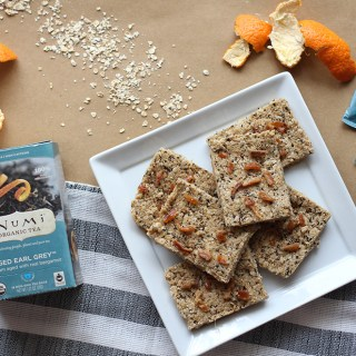Homemade Granola Bars with Aged Earl Grey