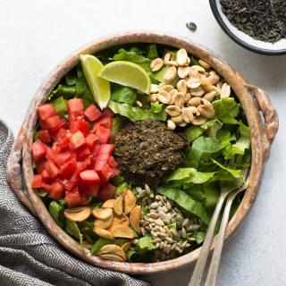 numi diy burmese style tea leaf salad
