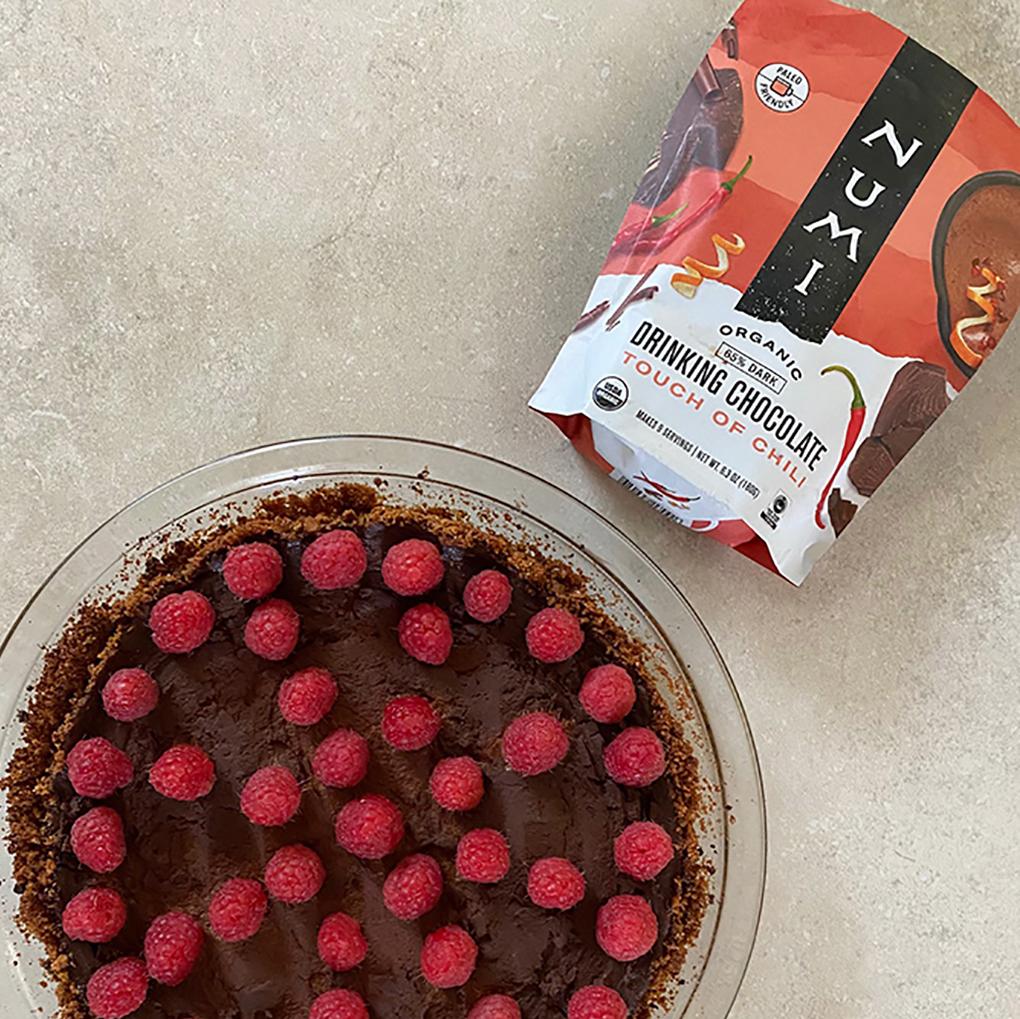 Chocolate Spice Pumpkin Pie