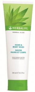 Herbal Aloe Gel de Curăţare pentru Mâini şi Corp