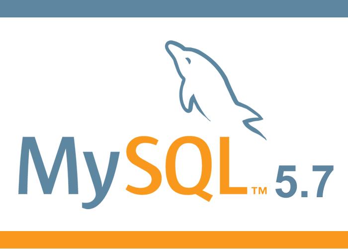 Actualização para MySQL 5.7