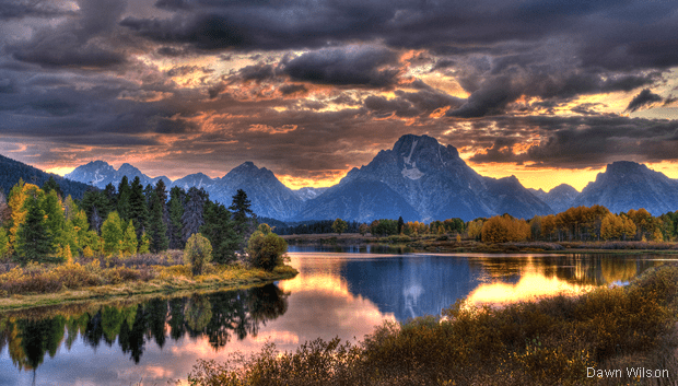 New York Fall Hd Wallpaper Photo Of The Day Oxbow Bend The National Wildlife
