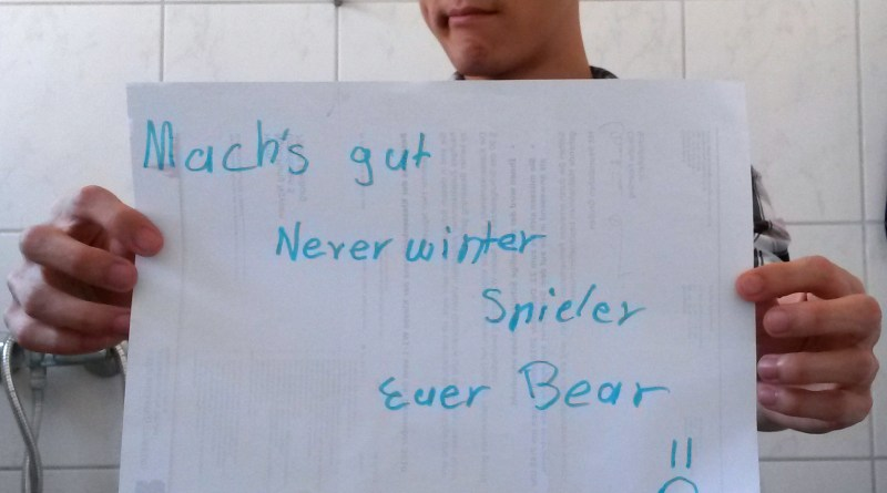 Bear Saying Goodbye Neverwinter