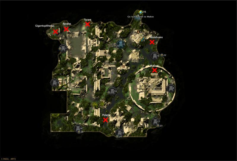 Mod 13 Star Hunt Locations Omu