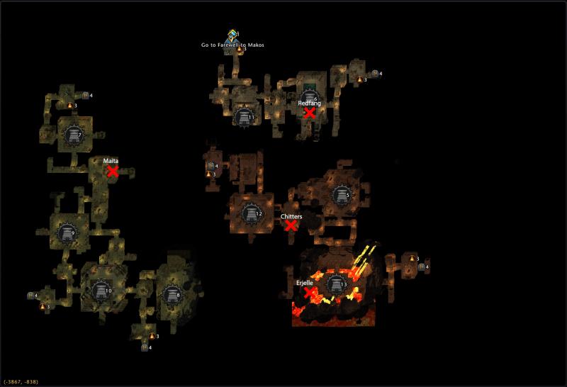 Mod 13 Star Hunt Locations Undercity