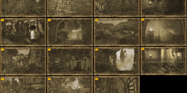 Omu Treasure Map Locations Omu