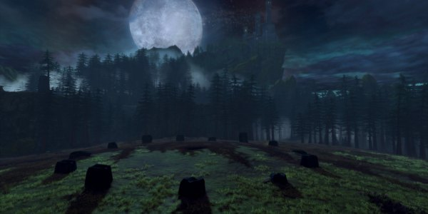 Yester Hill (Ritual place of the corrupted druids and berserkers)