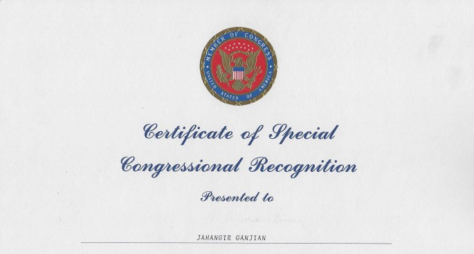 Congressional awards. Congress.