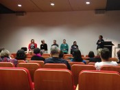 Panelists at Museums & Galleries session, NZ Diversity Forum 2012.