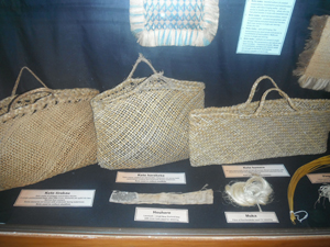 Finished display. Image courtesy of Okains Bay Maori & Colonial Museum.