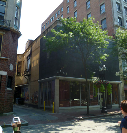 276 Westminster Street, Providence, as it looks today.