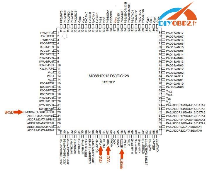 3 minutes UPA USB Programmeur lire Peugeot 307 BSI
