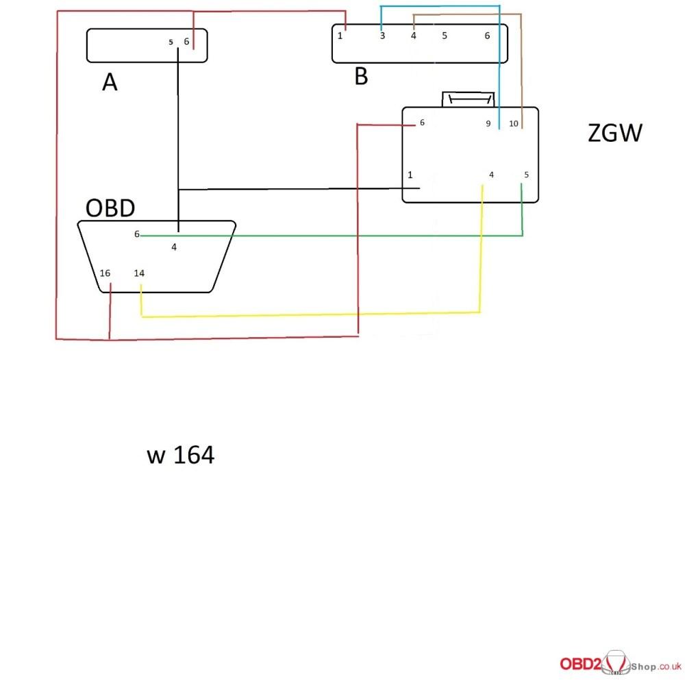 medium resolution of cgdi mb w164 wiring diagram