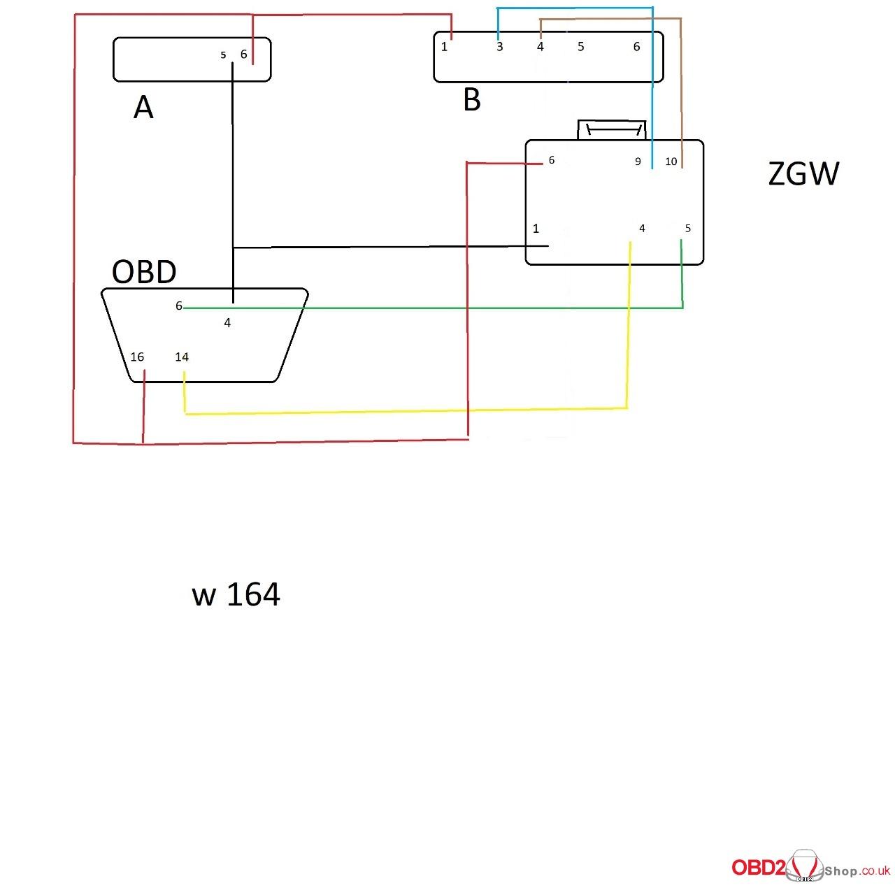 hight resolution of cgdi mb w164 wiring diagram