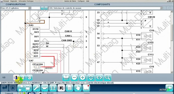 Ford Wiring Diagram Symbols Read Vehicle Wiring Diagrams With Multi Diag J2534 Pass