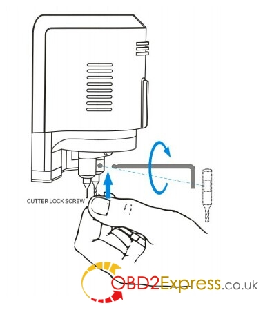 CONDOR XC-MINI Key Cutting Machine software installation