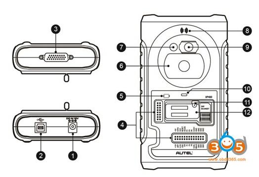 Autel XP400 Adapter User Manual