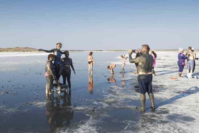 gökçeada tuz gölü
