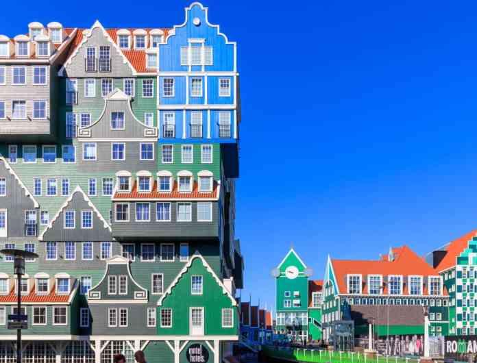 Zaandam Inntel Otel,Hollanda