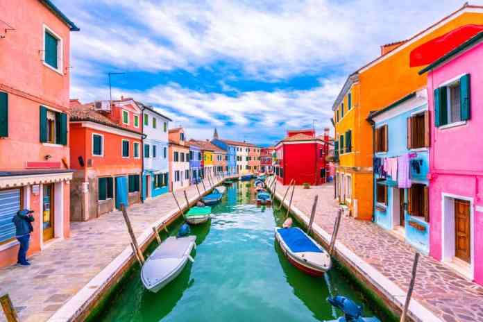 Burano, İtalya