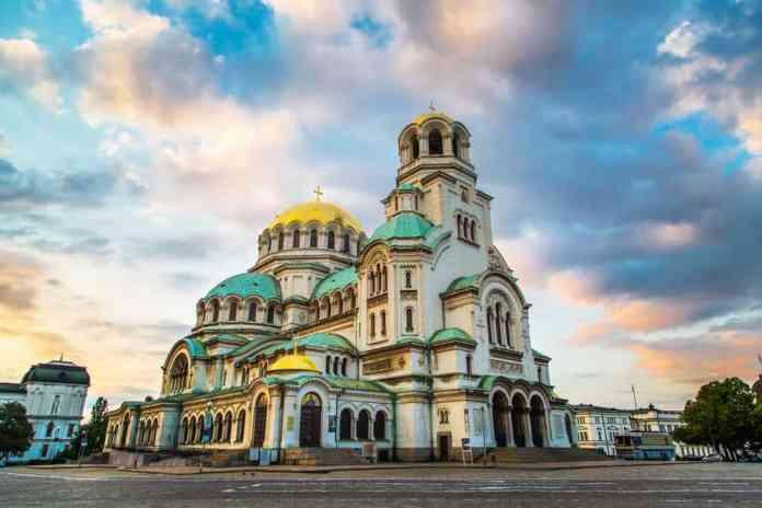 Aleksander Nevski Katedrali Sofya Bulgaristan