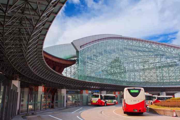 Kanazawa Tren İstasyonu, Kanazawa, Japonya