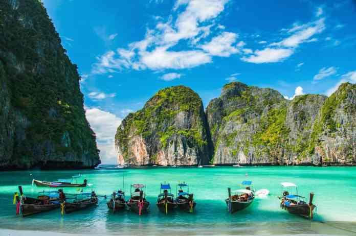 Maya Koyu, Phi Phi Adası, Tayland