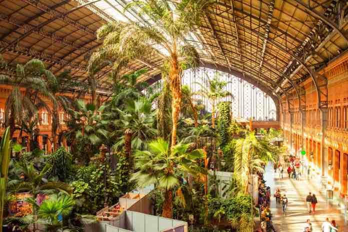 Atocha Tren İstasyonu, Madrid, İspanya
