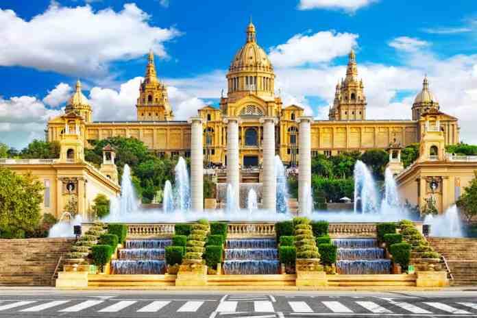 Plaça de Catalunya (Katalonya Meydanı) Barcelona