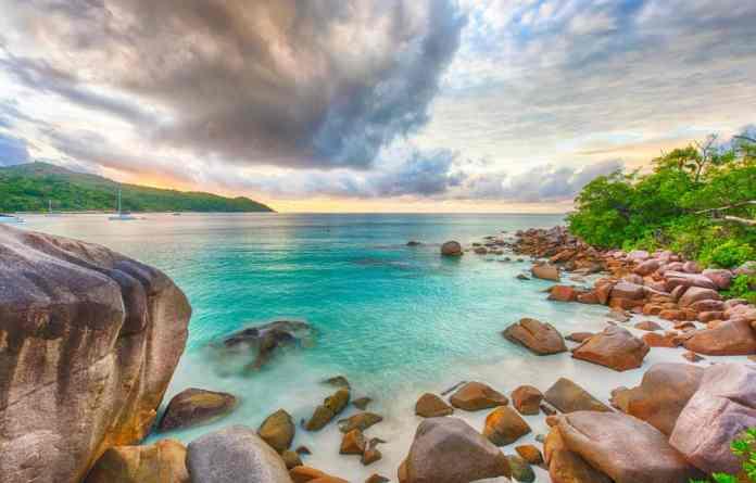 Anse Lazio, Praslin Adası, Seyşeller