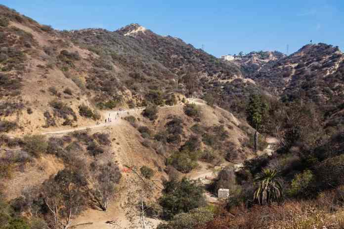 Runyon Kanyon Parkı Los Angeles