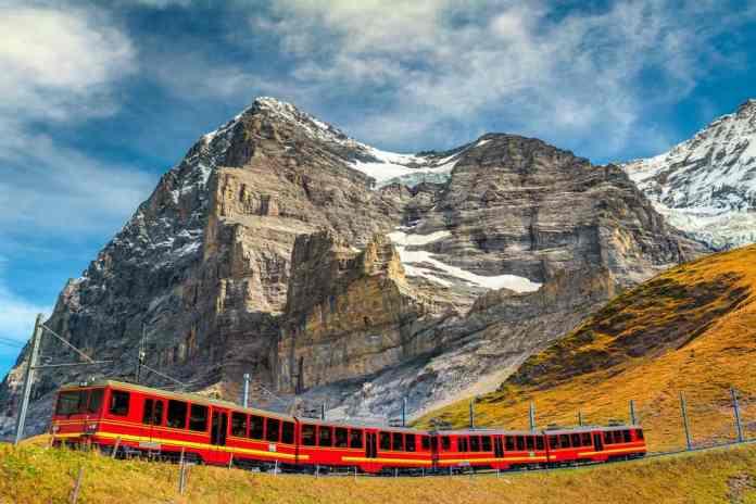 Jungfraujoch Tren İstasyonu, Interlaken, İsviçre