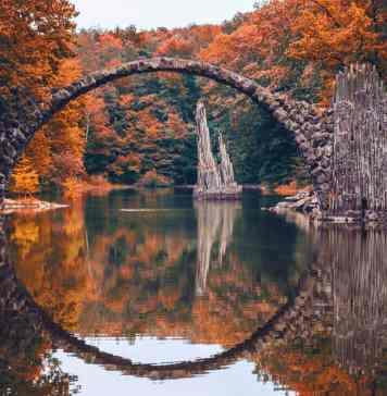 Rakotz Köprüsü Almanya