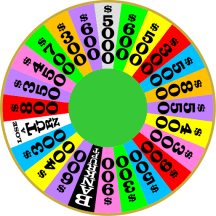 wheel of fortune wheel
