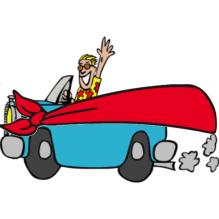 Blindfold Racer Logo