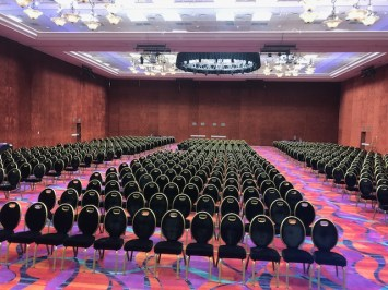 picture showing 1200 chairs