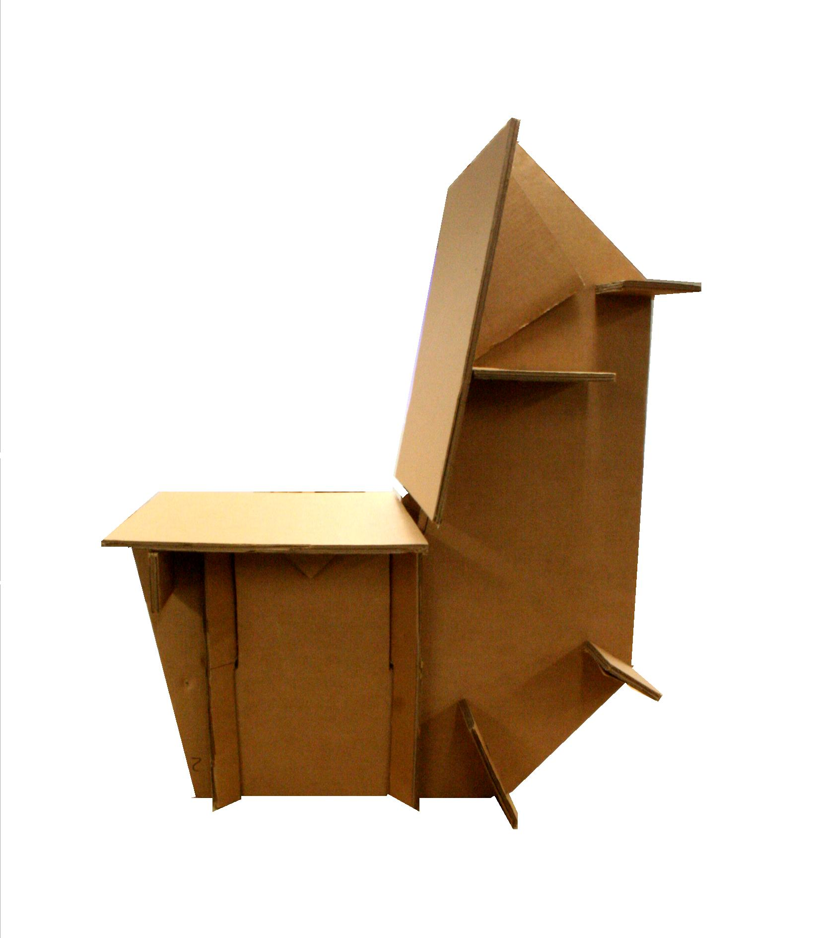 Cardboard Chair Project Two Cardboard Chair Osvaldo And Stefan