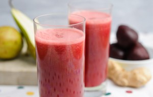 Image of Beetroot, Apple and Grapefruit Juice recipe