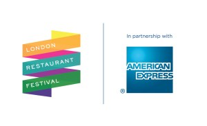 London Restaurant Festival and American Express logos