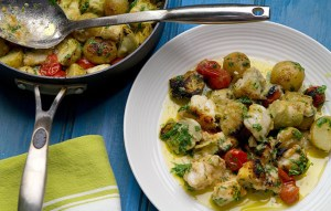 Image of Monkfish with Artichoke Hearts recipe