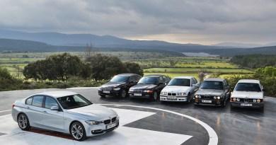 Cuatro décadas del BMW Serie 3